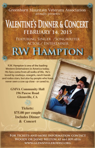 Sweethearts Valentines Day Dinner  @ GMVA Rodeo Grounds | Glennville | California | United States