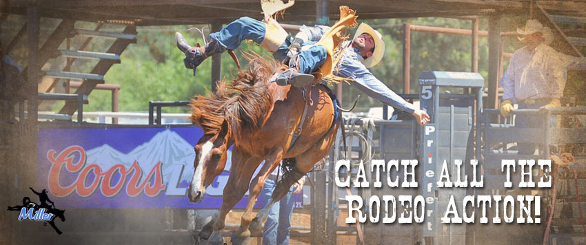 Catch all the rodeo action!