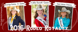 2016 Glennville Rodeo Royalty